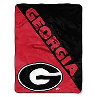 Georgia Bulldogs Micro Raschel Throw Blanket