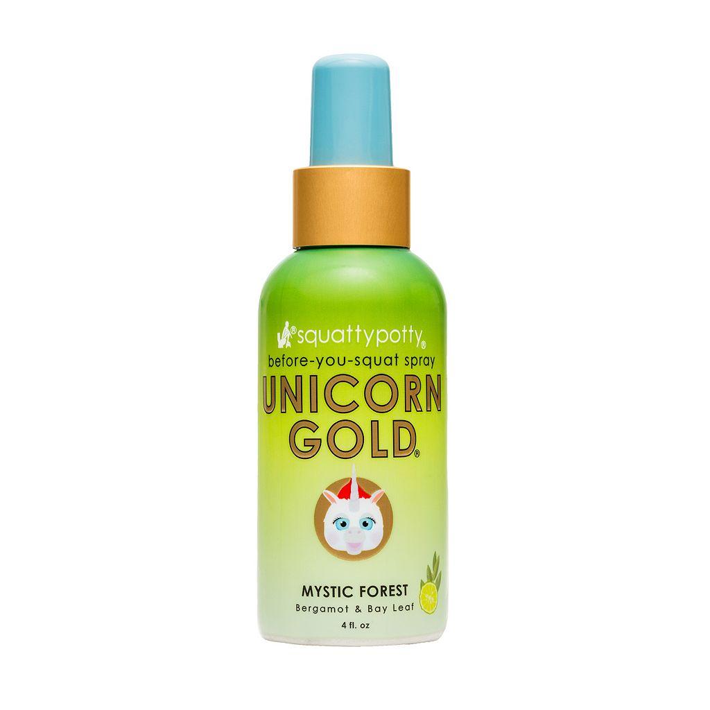 Squatty Potty Unicorn Gold Toilet Spray (4 Ounces)