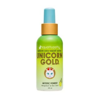 Squatty Potty Unicorn Gold Toilet Spray (4 Ounces)