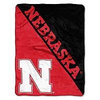 Nebraska Cornhuskers Micro Raschel Throw Blanket