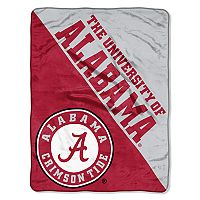 Alabama Crimson Tide Micro Raschel Throw Blanket