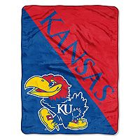 Kansas Jayhawks Micro Raschel Throw Blanket