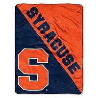 Syracuse Orange Micro Raschel Throw Blanket