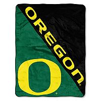 Oregon Ducks Micro Raschel Throw Blanket