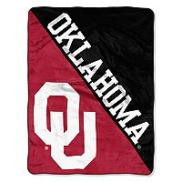 Oklahoma Sooners Micro Raschel Throw Blanket