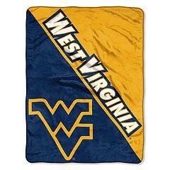 West Virginia Mountaineers Micro Raschel Throw Blanket