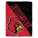 Louisville Cardinals Micro Raschel Throw Blanket