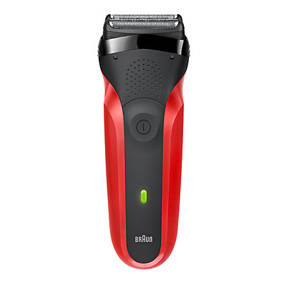 Braun 300s Men's Red Series 3 Shaver