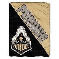 Purdue Boilermakers Micro Raschel Throw Blanket