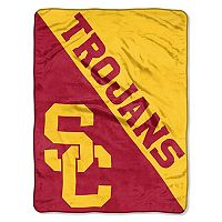 USC Trojans Micro Raschel Throw Blanket