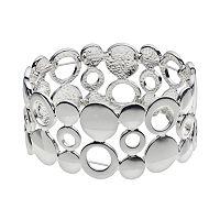 Plus Size Circle Link Stretch Bracelet