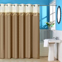 Portsmouth Home Abilene Embroidered Shower Curtain