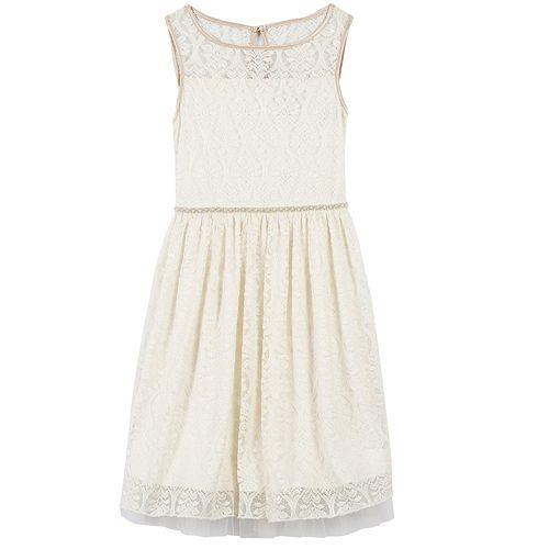 Girls 7-16 Speechless Lace Overlay Dress