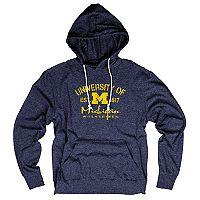 Men's Michigan Wolverines Hooded Tee
