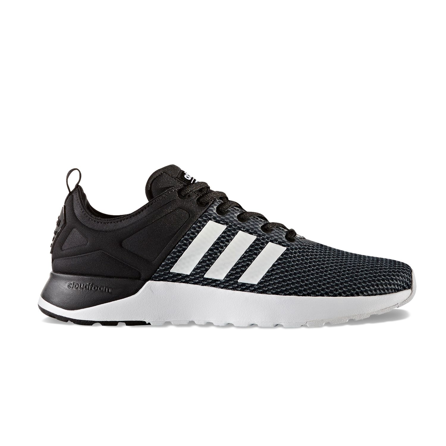 adidas NEO Cloudfoam Super Racer Men\u0027s Shoes. Royal Gray Black