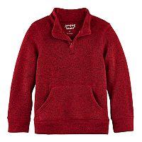Boys 4-10 Jumping Beans® 1/4 Zip Fleece Sweater