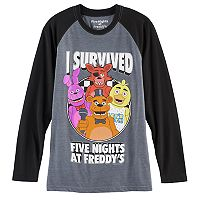 Boys 8-20 Five Nights At Freddy's Party Tee