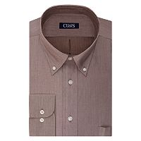 Big & Tall Chaps Regular-Fit Herringbone Wrinkle-Free Dress Shirt