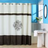 Portsmouth Home Lewiston Embroidered Shower Curtain