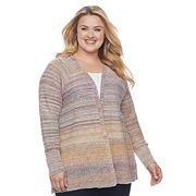 Plus Size SONOMA Goods for Life™ Striped Cardigan