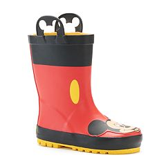 Western Chief  Disney's Mickey Mouse Toddler Boys' Waterproof Rain Boots