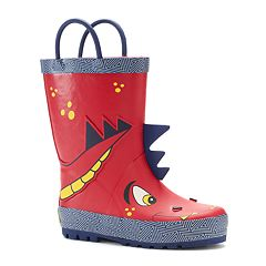 Western Chief Spike Dragon Toddler Boys' Waterproof Rain Boots