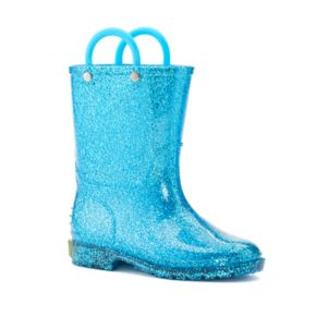 Western Chief Glitter Toddler Girls' Waterproof Rain Boots