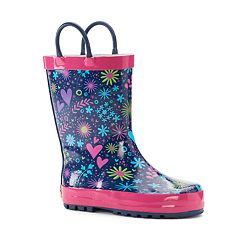 Western Chief Willow Toddler Girls' Waterproof Rain Boots