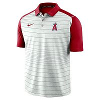 Men's Nike Los Angeles Angels of Anaheim Striped Polo