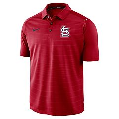 Men's Nike St. Louis Cardinals Striped Polo