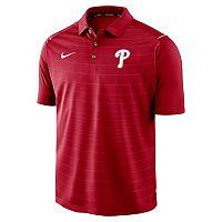 Men's Nike Philadelphia Phillies Striped Polo