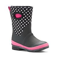 Western Chief Girls' Tall Waterproof Rain Boots