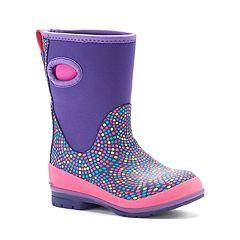 Western Chief Girls' Tall Waterproof Rain Boots