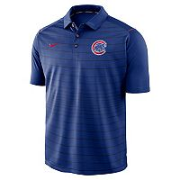 Men's Nike Chicago Cubs Striped Polo