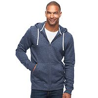 Big & Tall SONOMA Goods for Life™ Classic-Fit Sherpa-Lined Full-Zip Fleece Hoodie
