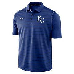 Men's Nike Kansas City Royals Striped Polo