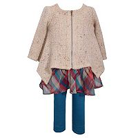 Girls 4-6x Bonnie Jean Sweater & Legggings Set