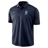 Men's Nike Seattle Mariners Striped Polo