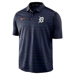 Men's Nike Detroit Tigers Striped Polo