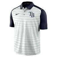 Men's Nike Tampa Bay Rays Striped Polo