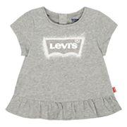 Baby Girl Levi's Peplum Tee