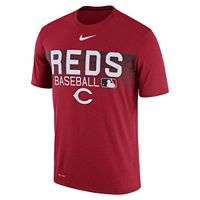 Men's Nike Cincinnati Reds Legend Team Issue Tee