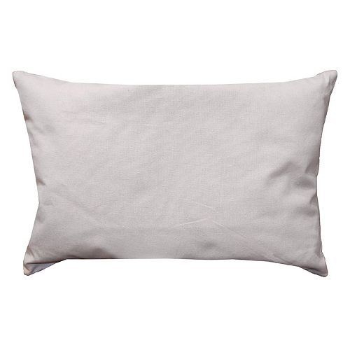Park B. Smith Back Ease Solid Lumbar Oblong Throw Pillow