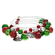 'Jingle All The Way' Beaded Coil Bracelet