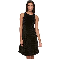 Women's Apt. 9® Velvet Highneck Dress