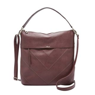 Relic Sophie Stitched Chevron Convertible Crossbody Bag