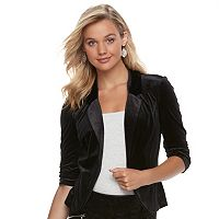 Juniors' Candies® Velvet Blazer