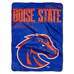 Boise State Broncos Super Plush Reversible Throw Blanket