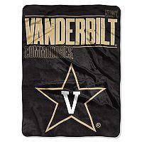 Vanderbilt Commodores Super Plush Reversible Throw Blanket