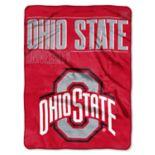 Ohio State Buckeyes Super Plush Reversible Throw Blanket